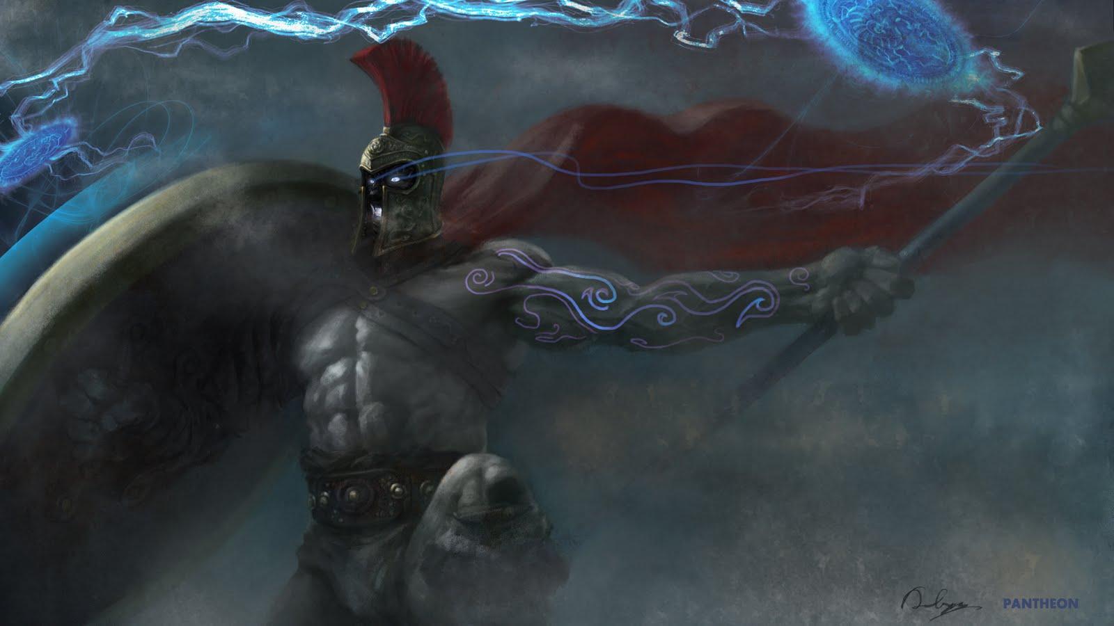 lol壁纸 英雄联盟 魔战士设计图 动漫人物 动漫动画 高清图片
